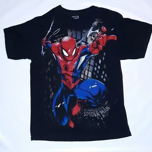 Marvel The Amazing Spiderman T shirt size large
